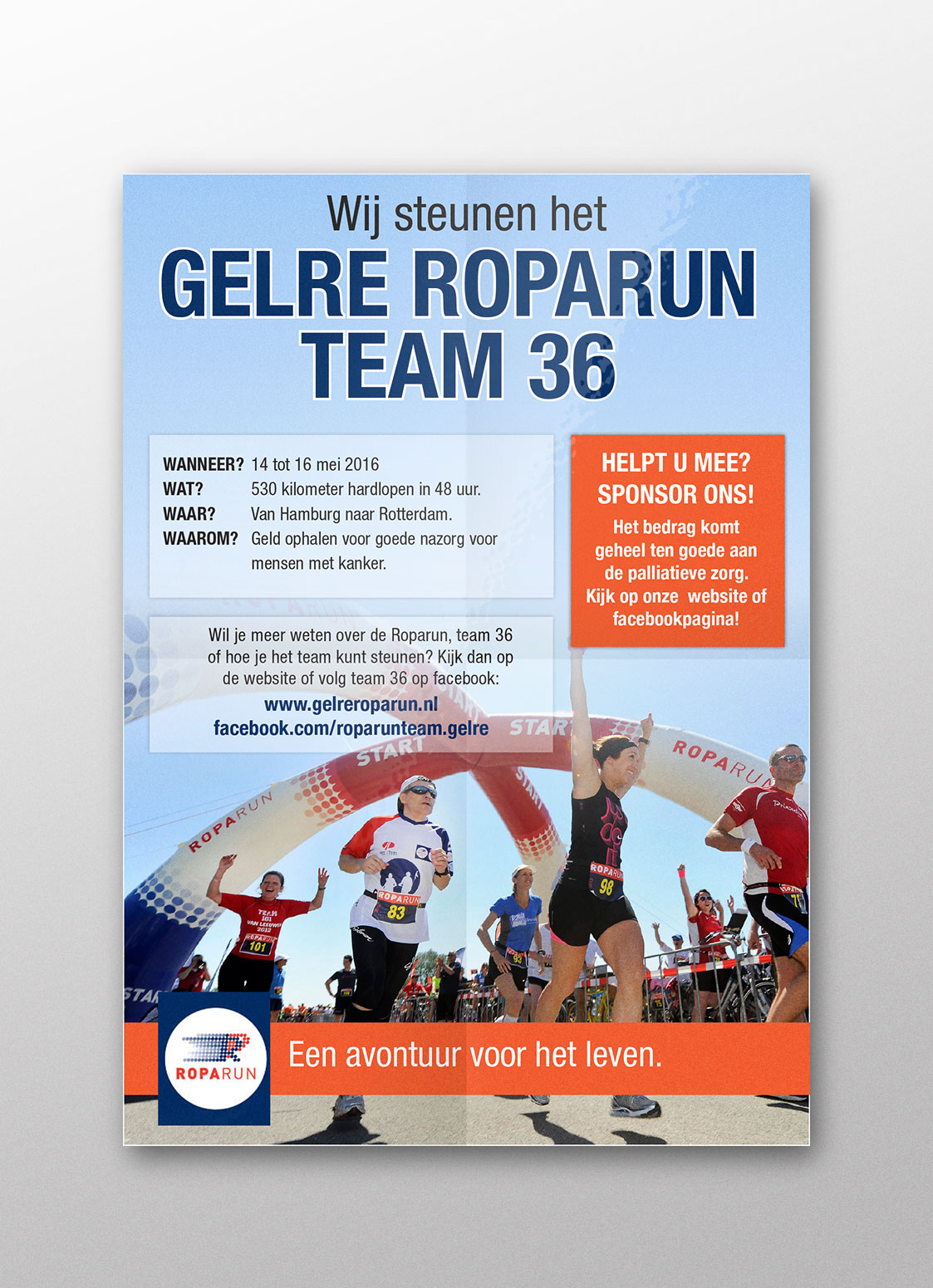 Poster | Roparun